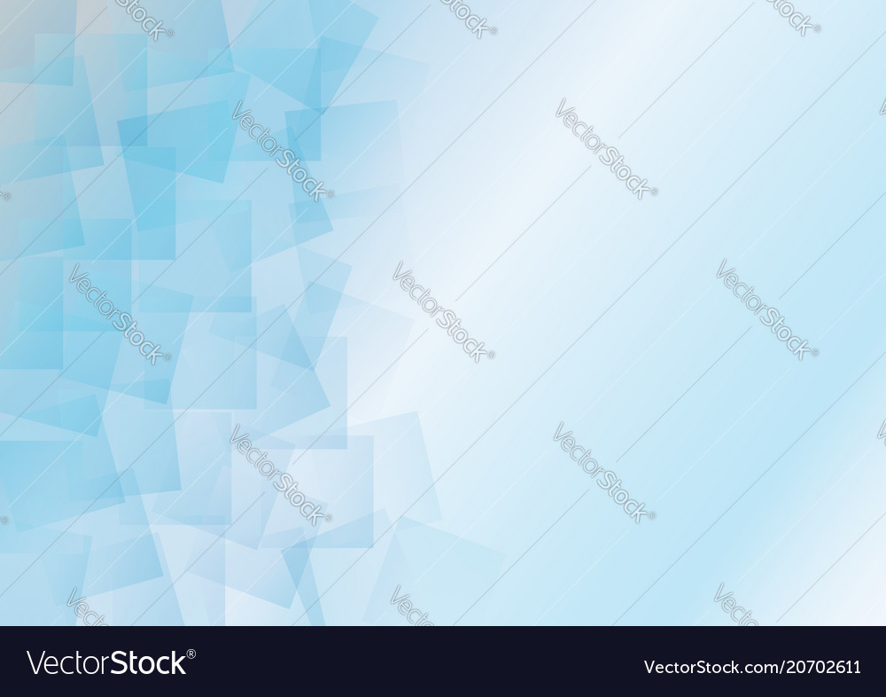 Abstract blue light square background