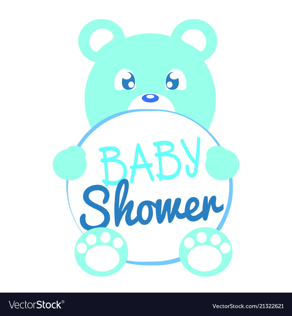 Baby shower background