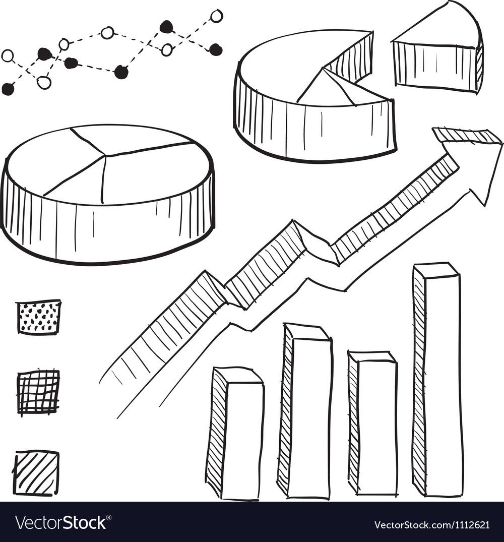 Doodle graphs charts