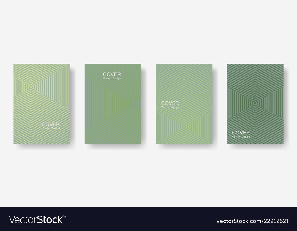 Minimal covers design with hexagon lines