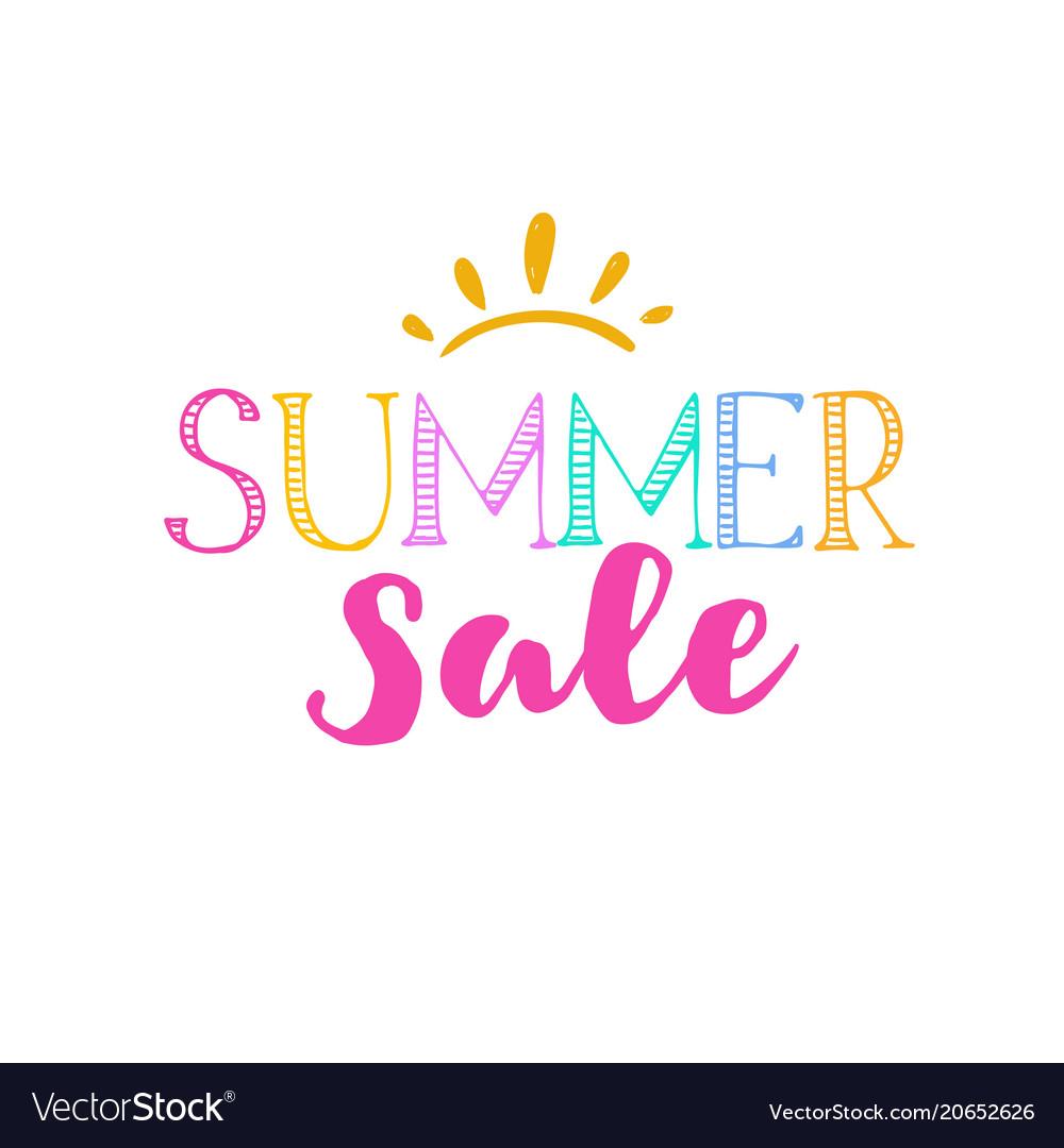 Summer sale template 2