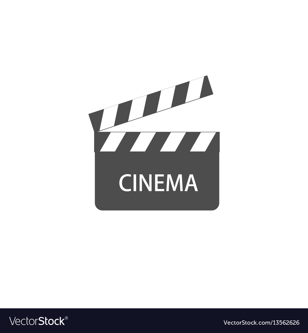 Video icon cinema sign vector image