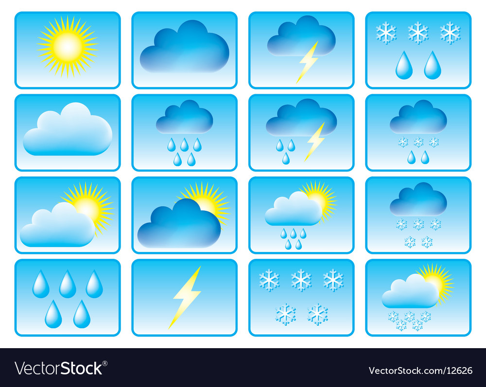 weather conditions vector 12626 Weather Conditions