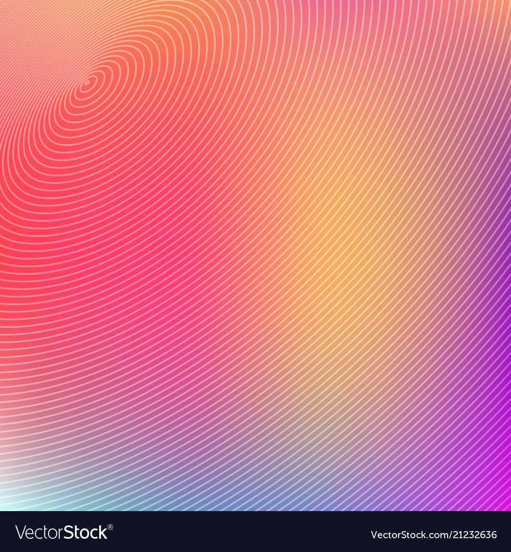 Abstract concentric circles futuristic on