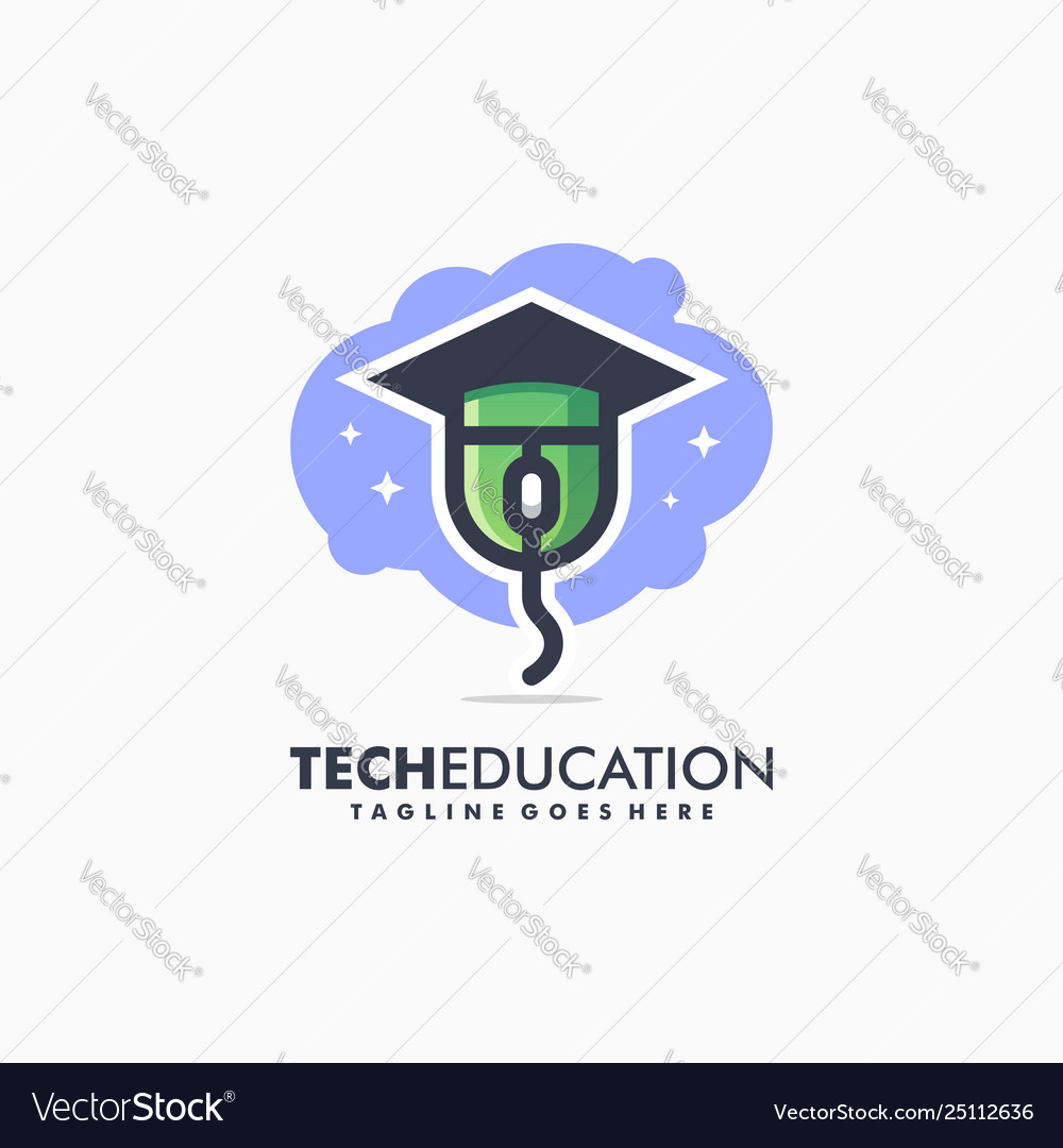 Tech education sport concept design