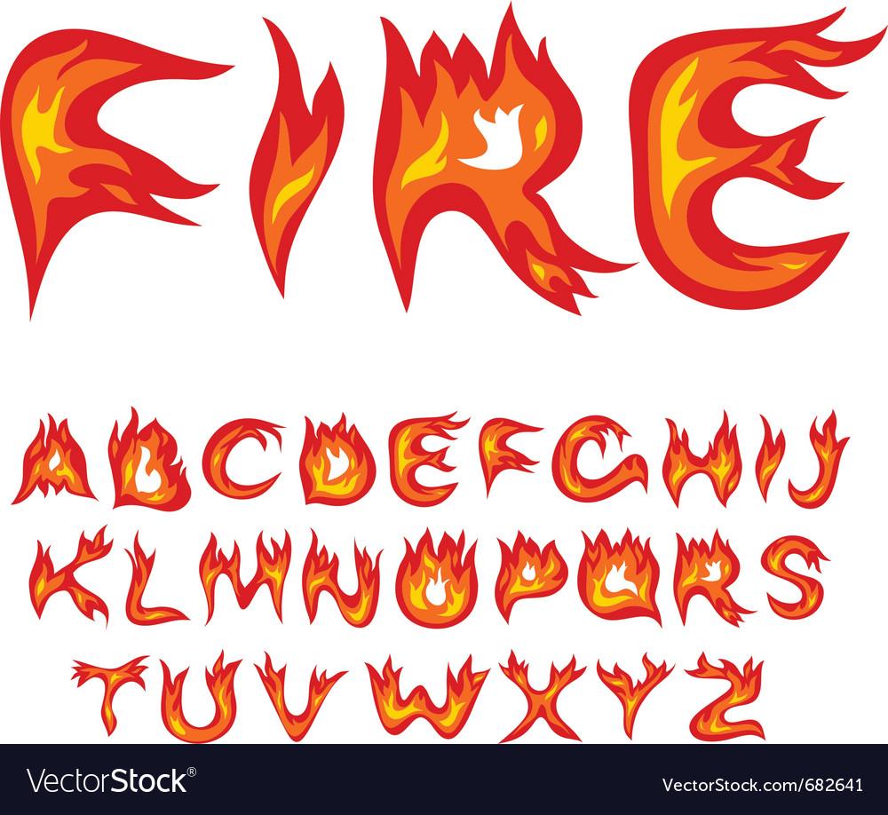 Flame Font Elis Dlugopisyreklamowe Co