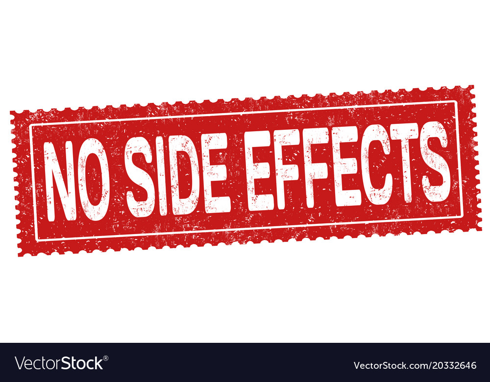 no side effects grunge rubber stamp royalty free vector