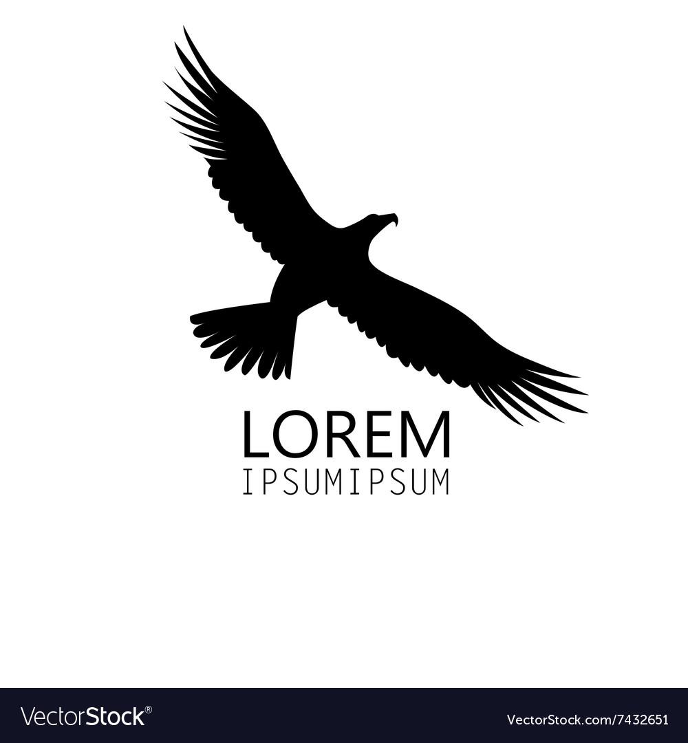 Icon of a black eagle