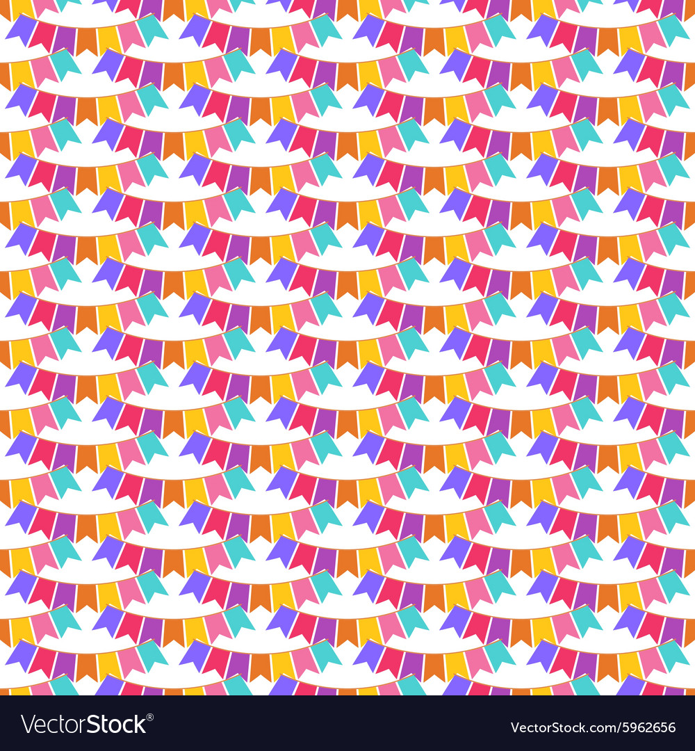 Flags seamless pattern