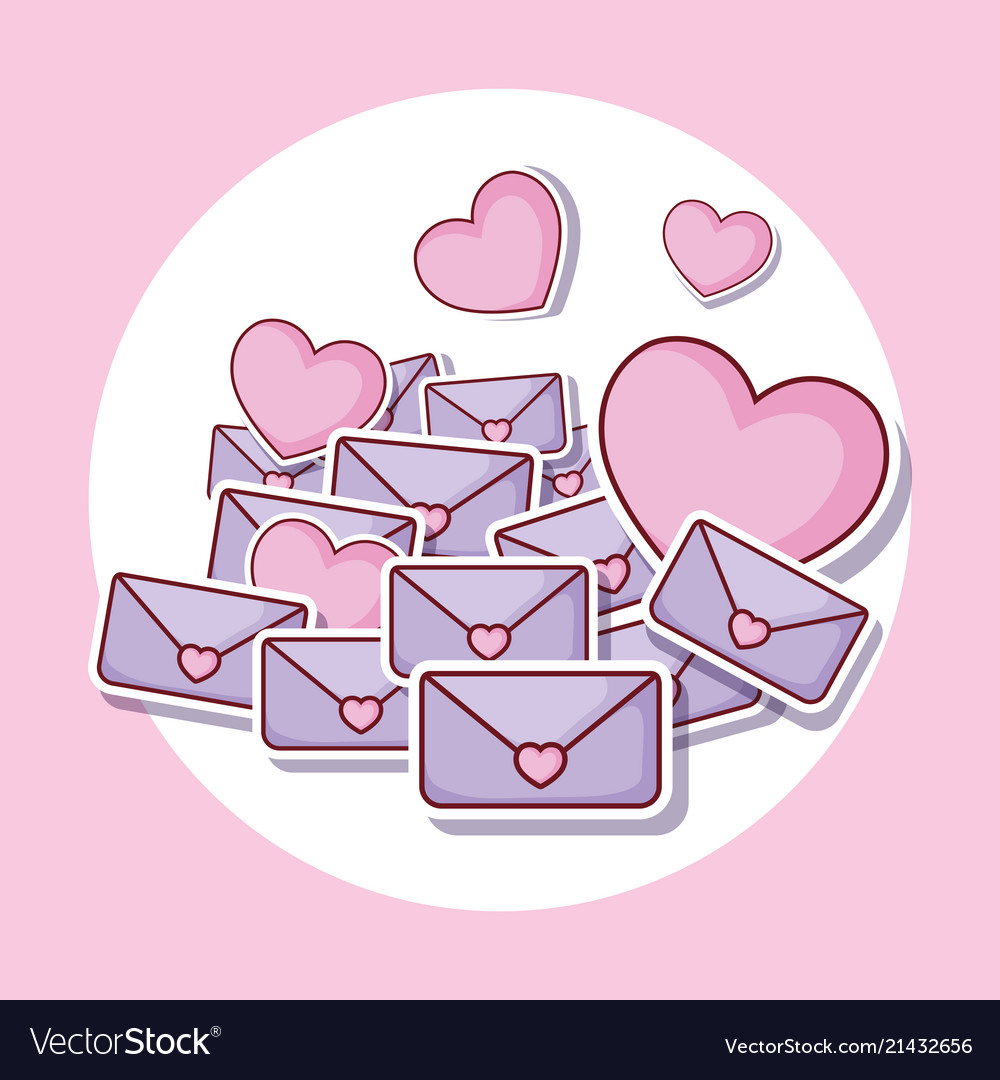 Heart and love letters
