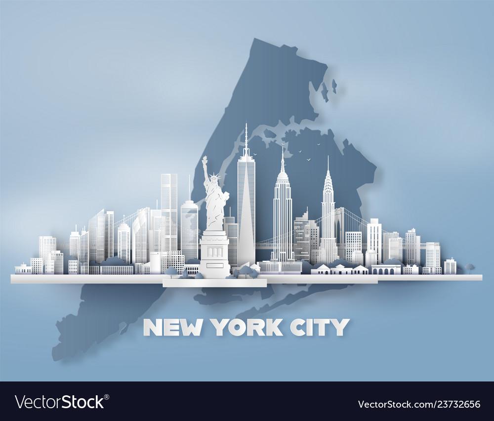New york city panorama skyline