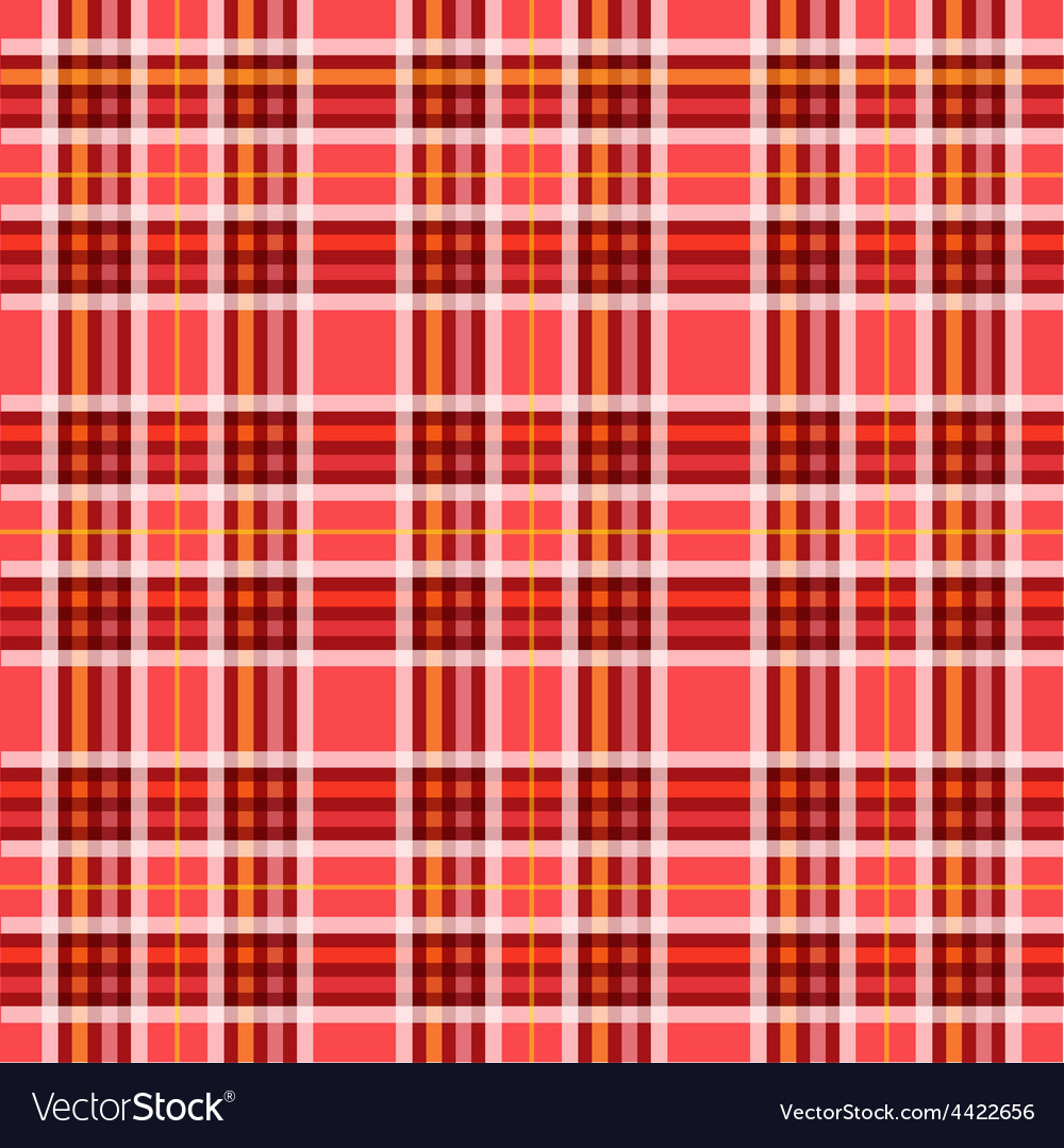 Seamless retro squared fabric