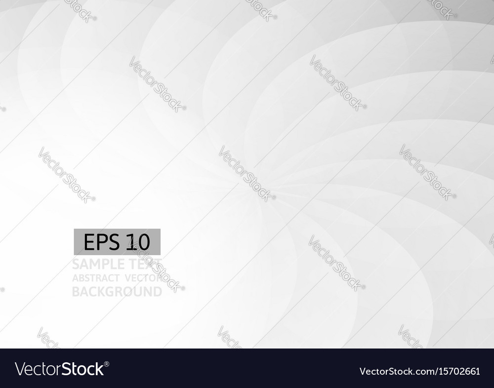 Gray wave and curve abstract background vector image
