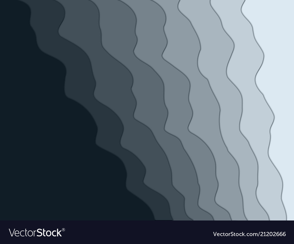 Abstract wavy background for design