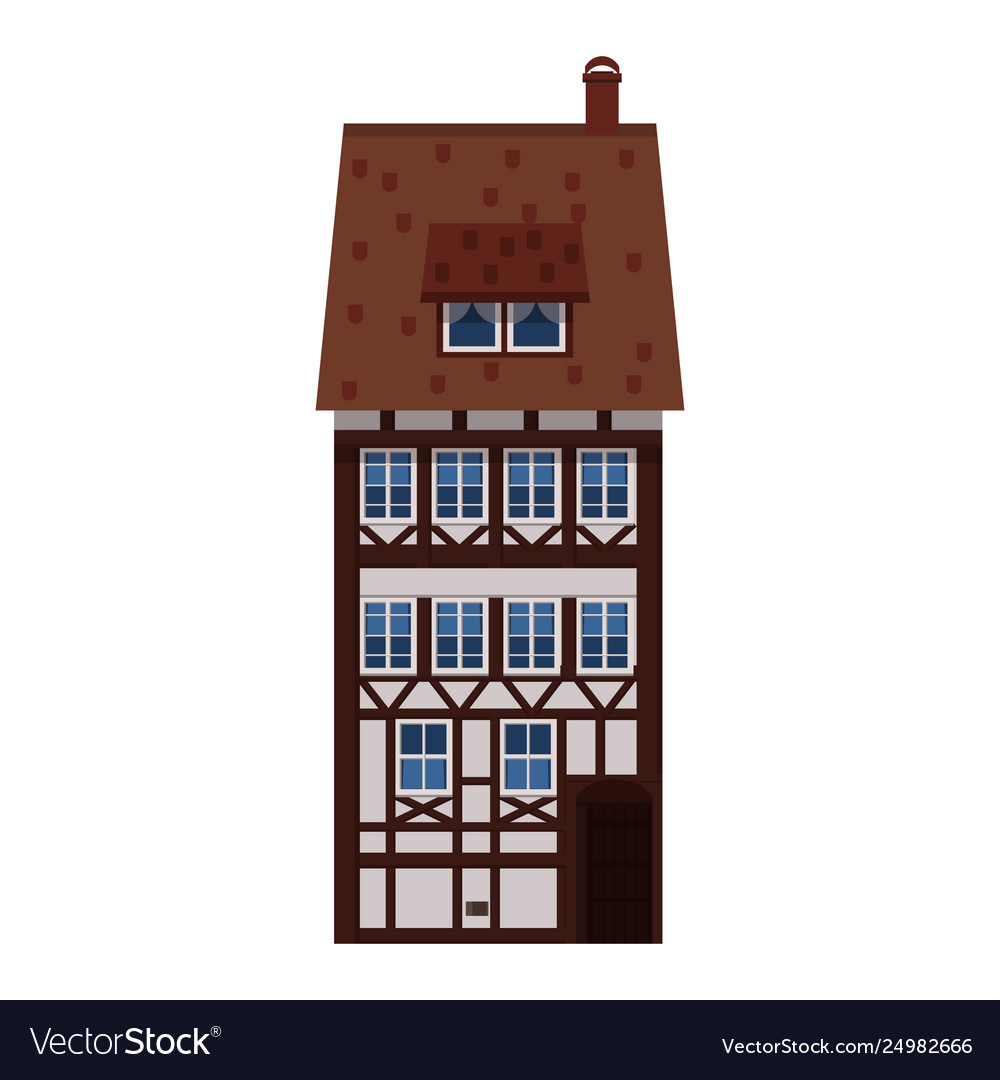 Old house home building facade europe