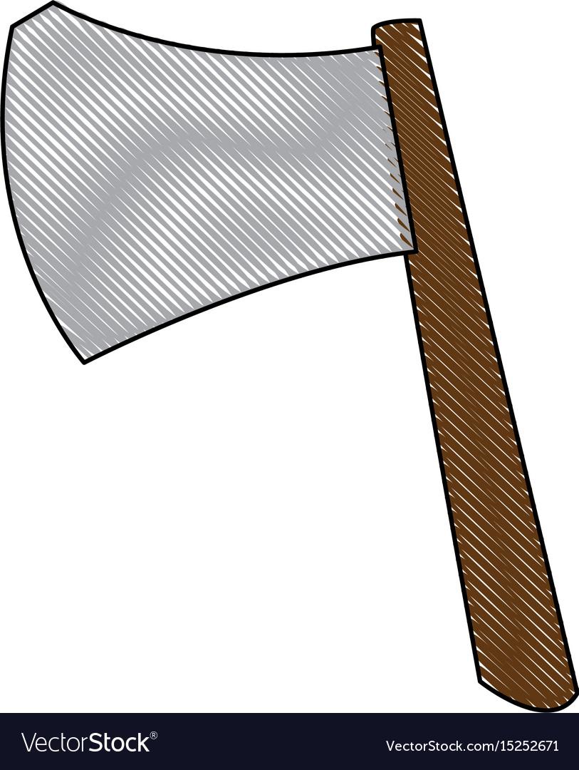 Ax weapon viking halloween imitation accessory