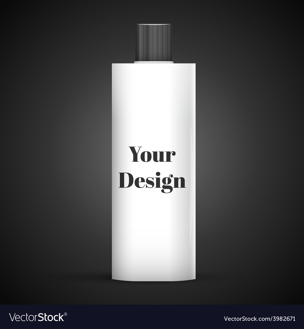 Cosmetic Or Hygiene Grayscale White Gray Chrome