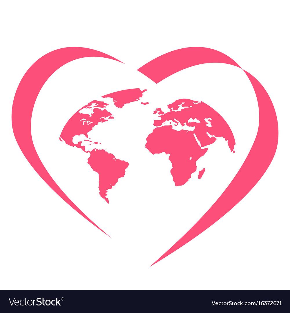 Global love logo
