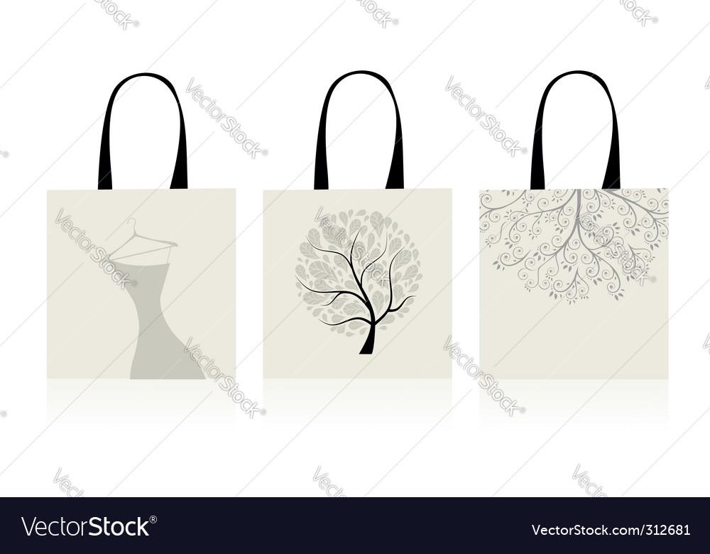 Shopping bags design