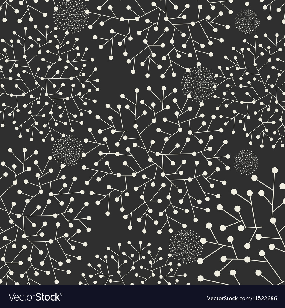 Abstract with leafs on dark grey background