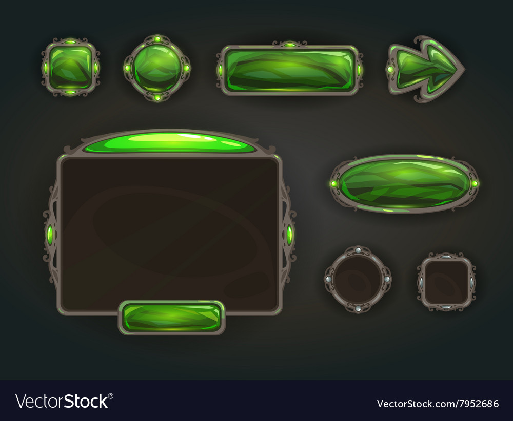 Cool game user interface assets