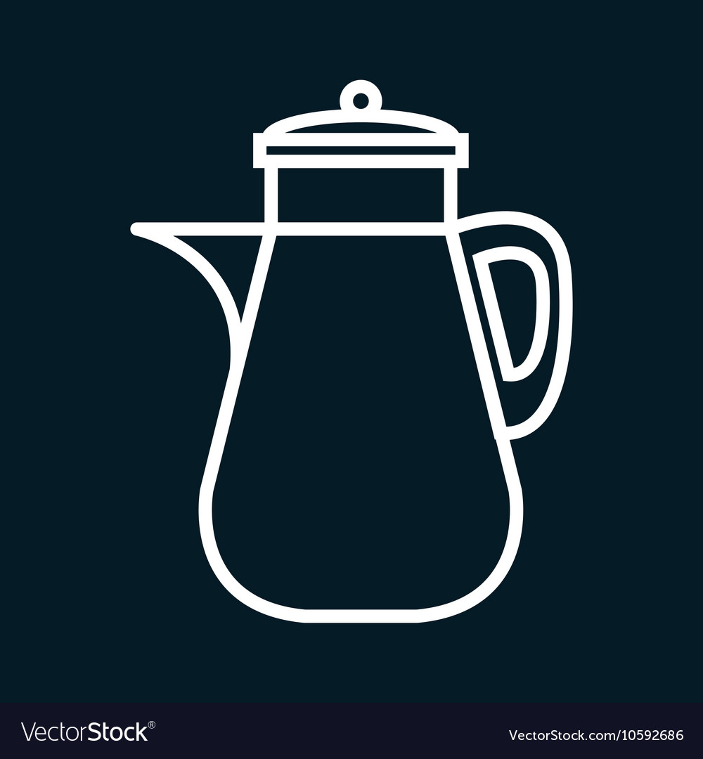 Icon jar juice beverage design