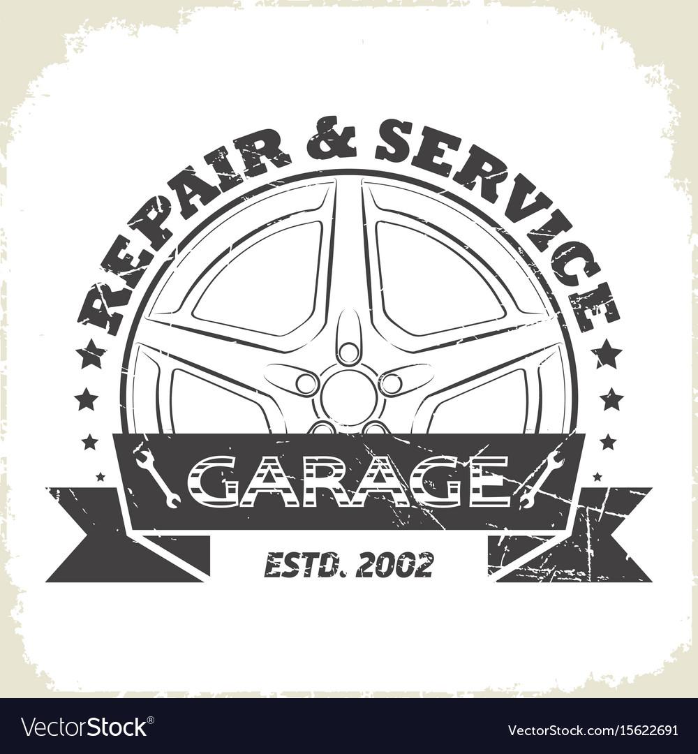 Auto wheel garage