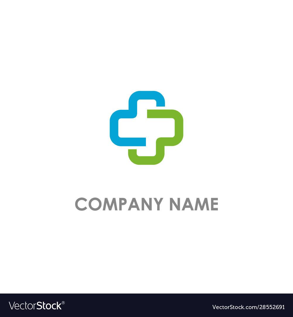 Cross medic colored logo