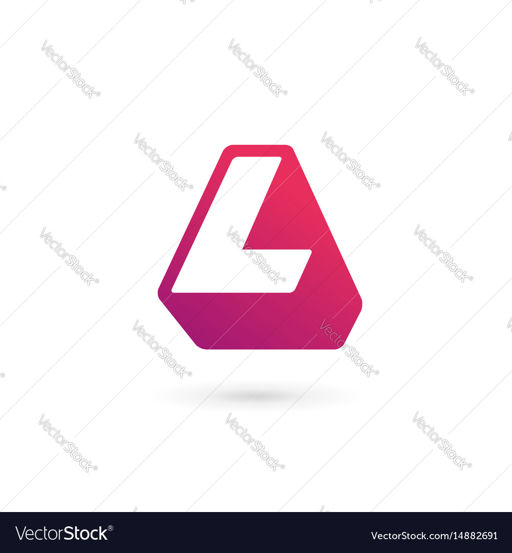 Letter l logo icon design template elements