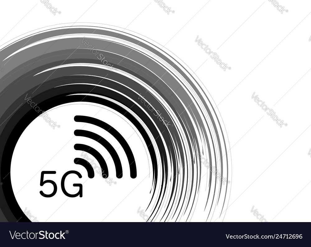 5g new wireless internet wifi connection logo