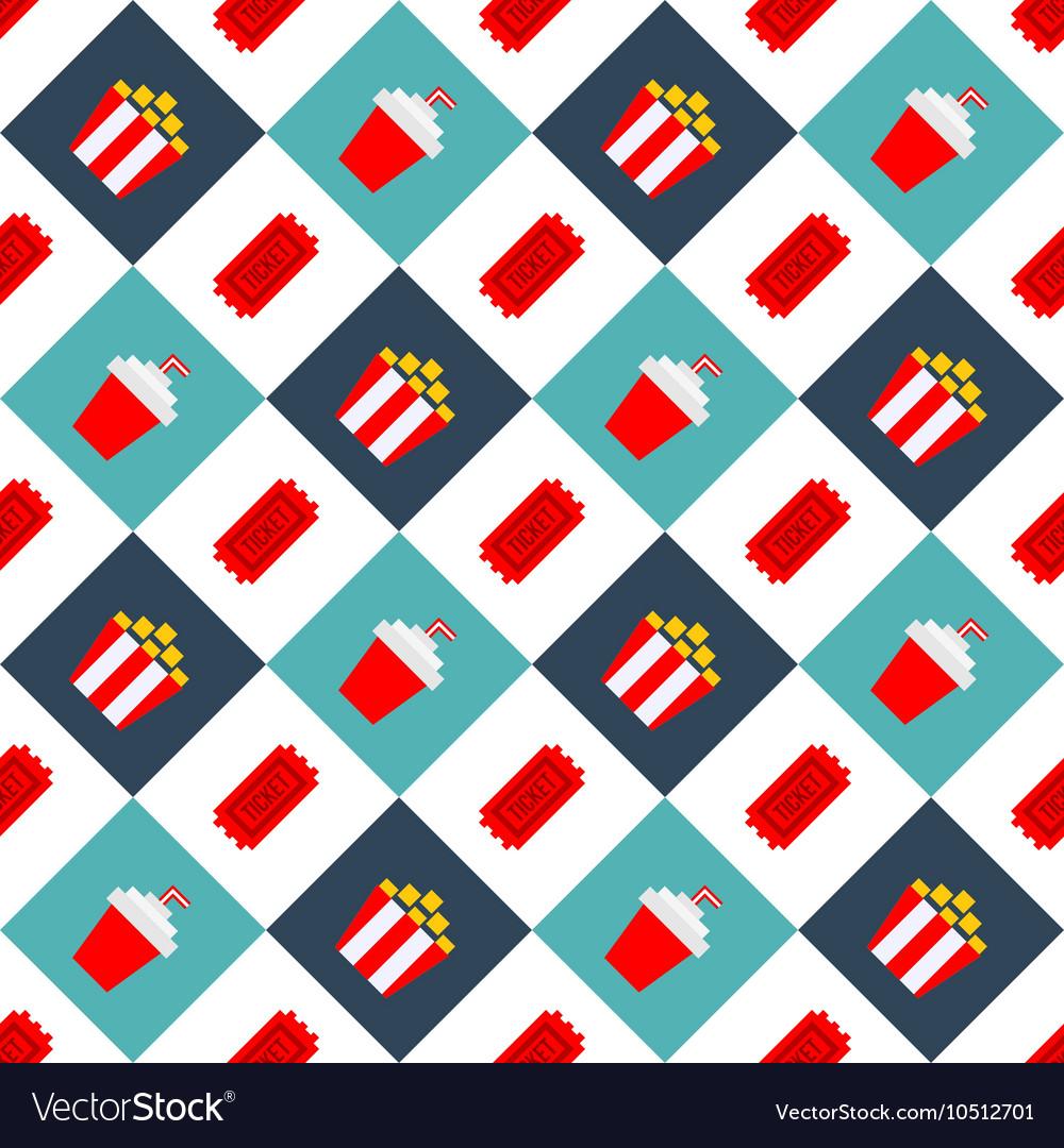 Movie Cinema seamless pattern background2