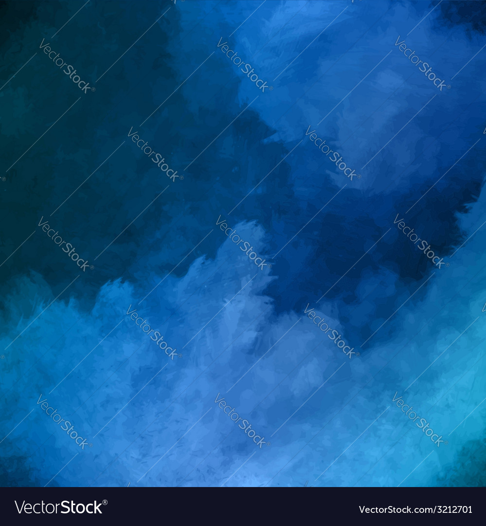 Night Sky Painting Background vector image