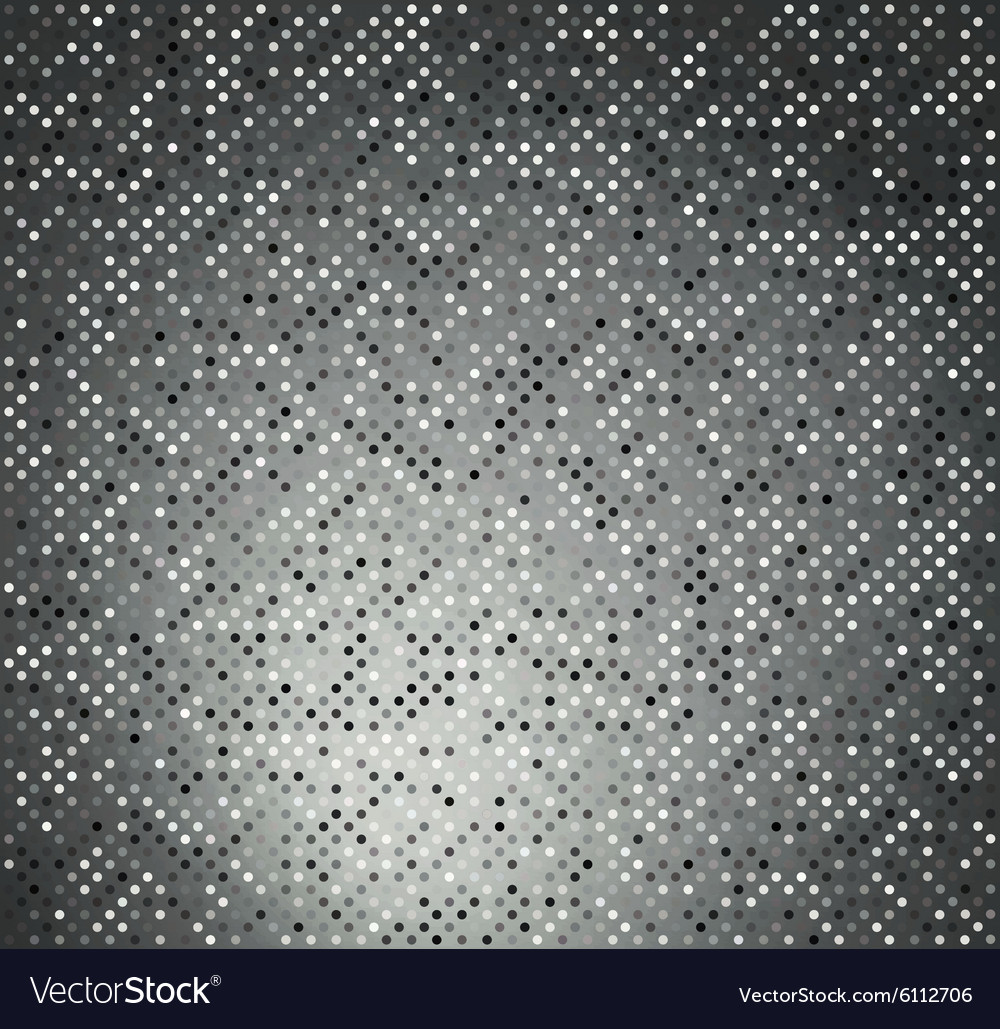 Background with black and white circles vector image