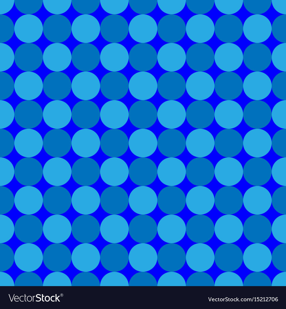 Polka dot geometric seamless pattern 7708 vector image