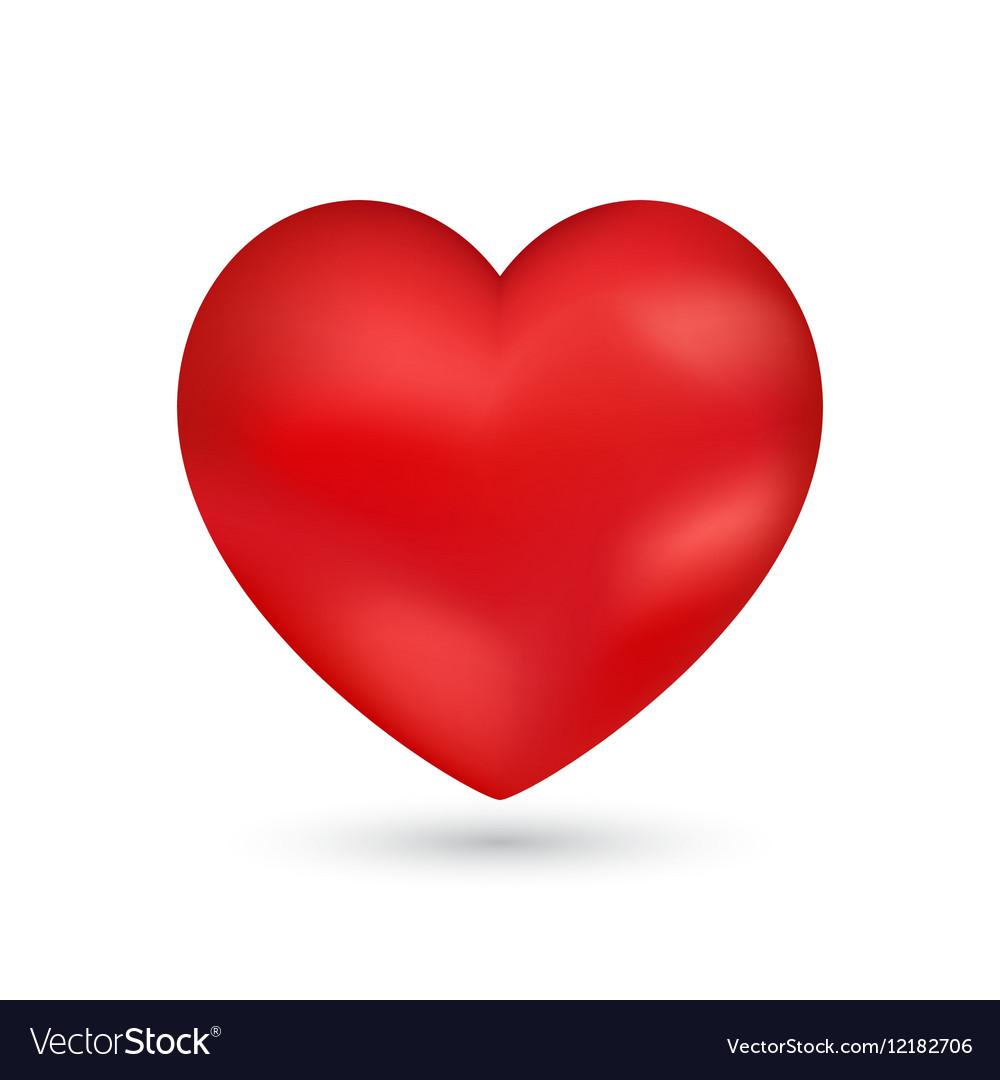 Shiny heart Valentine romantic background