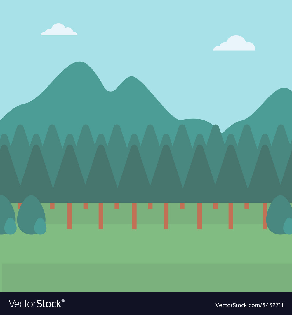 Background of mountain landscape
