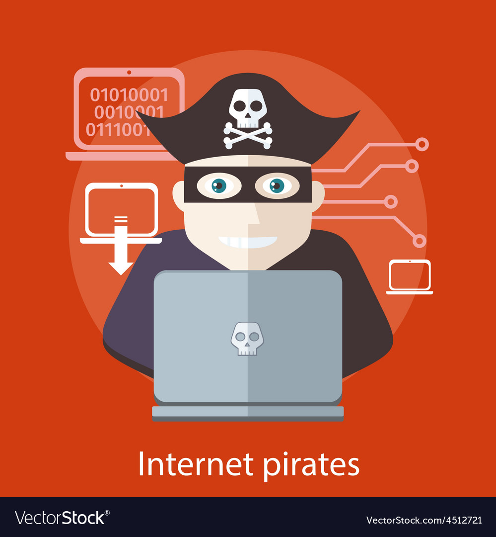 internet piracy A type of software piracy that occurs when software, which is illegally obtained through internet channels, usually through peer-to-peer file sharing systems or downloaded from pirate web sites that make software available for download for free or in exchange for users who uploaded software.