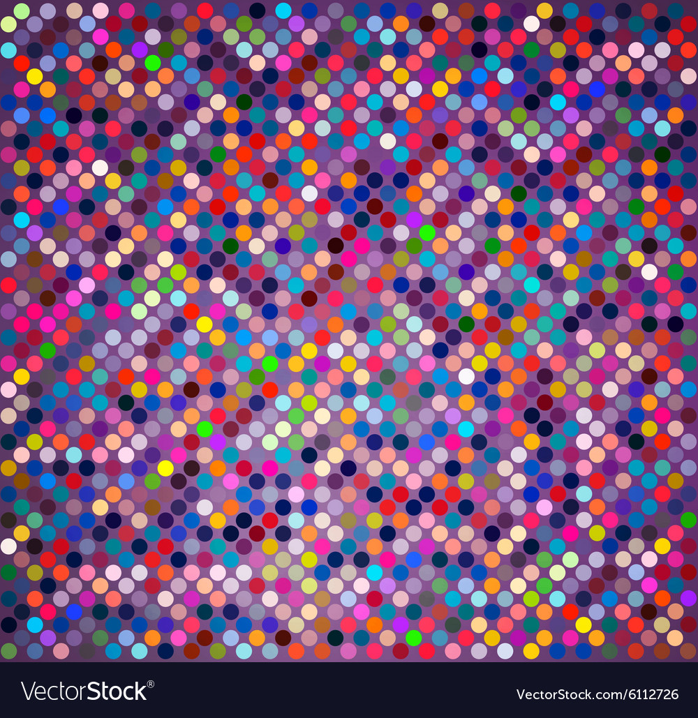 Background with colored circles vector image