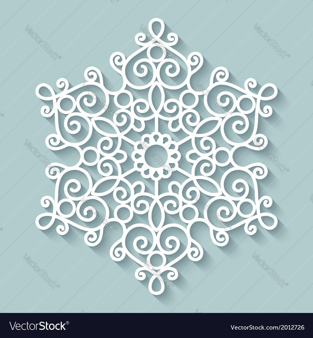 Paper lace doily