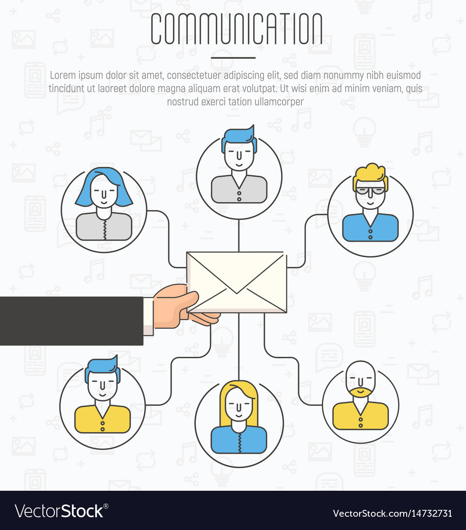 what is the email communication process