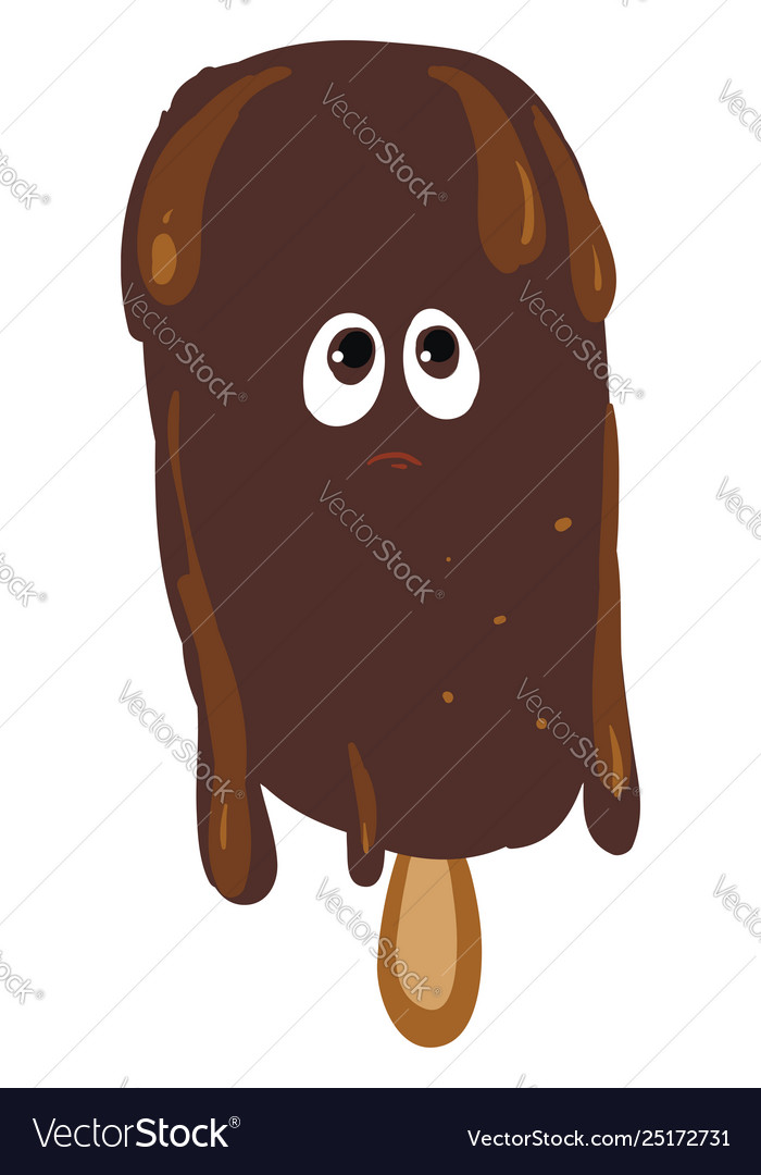 Melting Chocolate Ice Cream Or Color Royalty Free Vector,Avoid Msg In Food