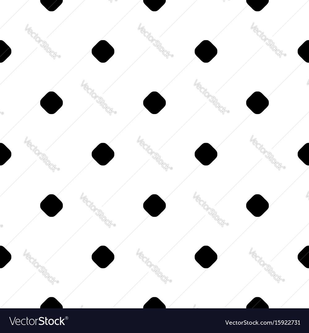 Polka dot pattern small circles and spots vector image