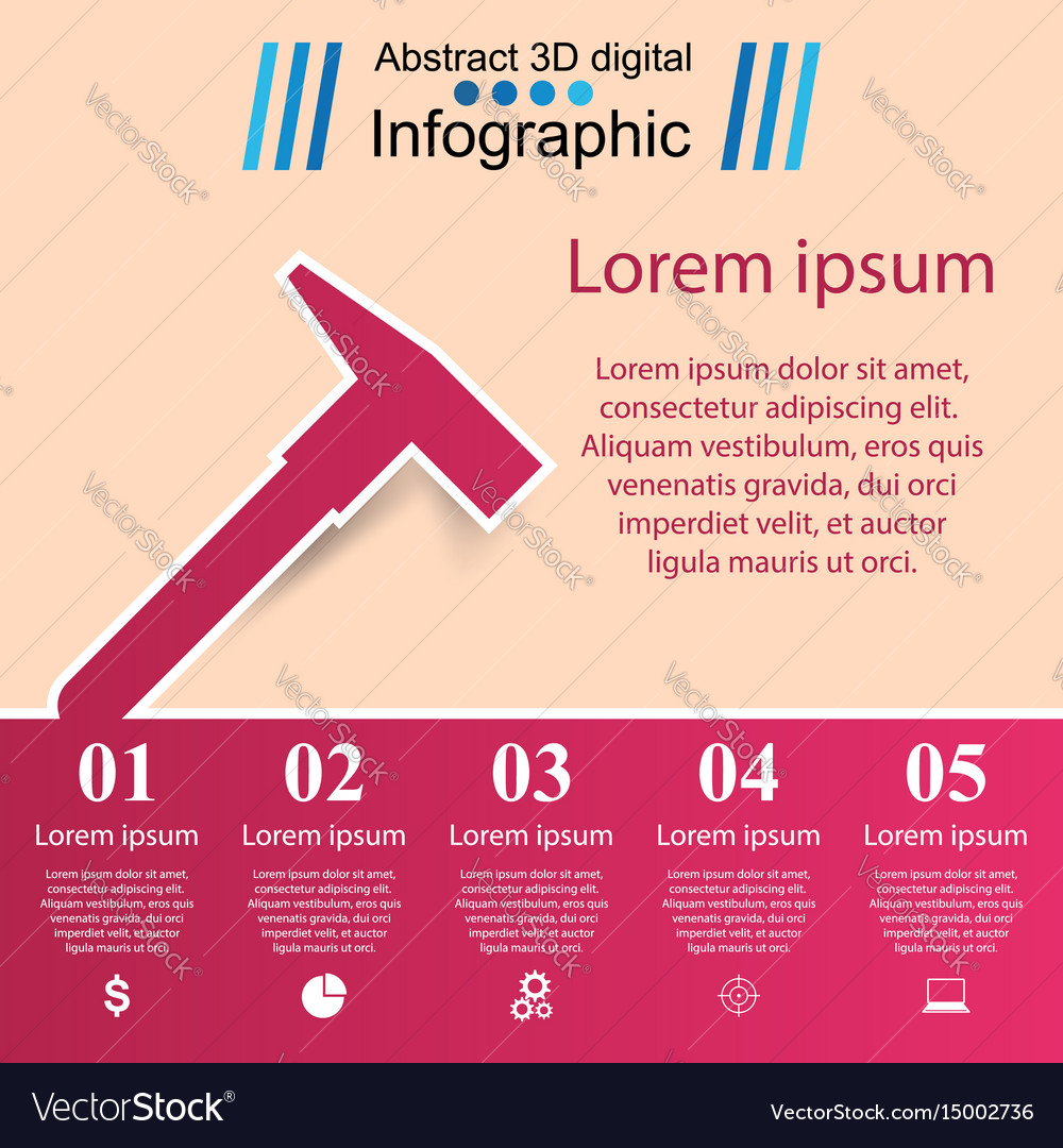 Building infographics origami style