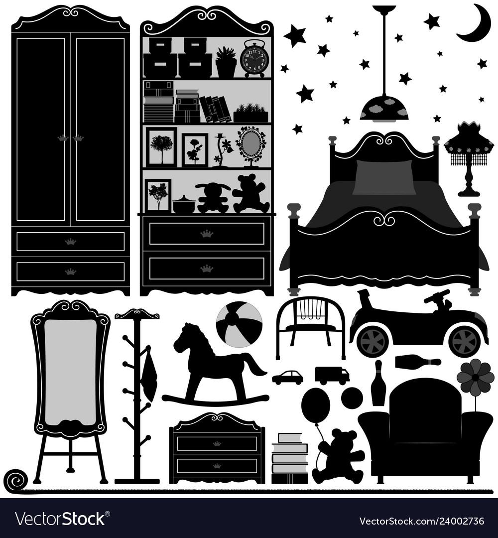 Children bedroom interior design home room a set