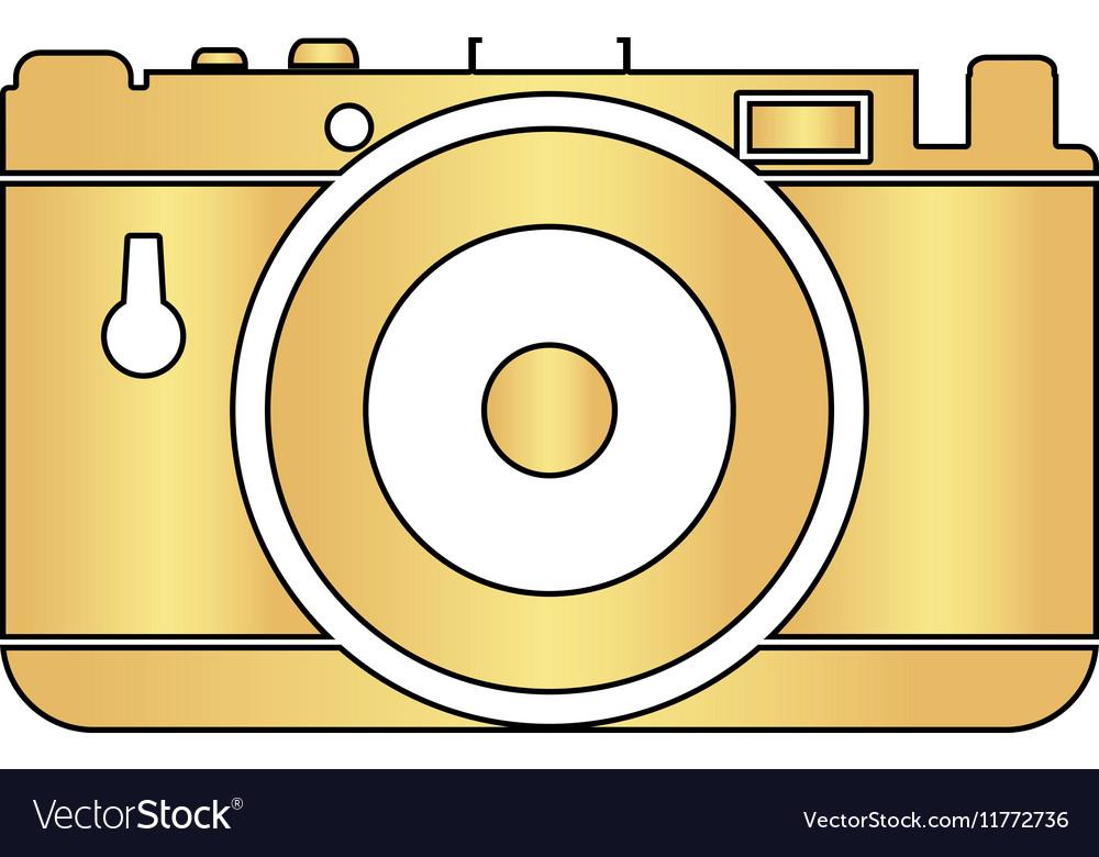Photo camera computer symbol