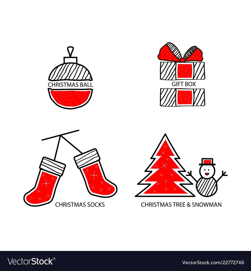 Christmas ball christmas gift christmas socks