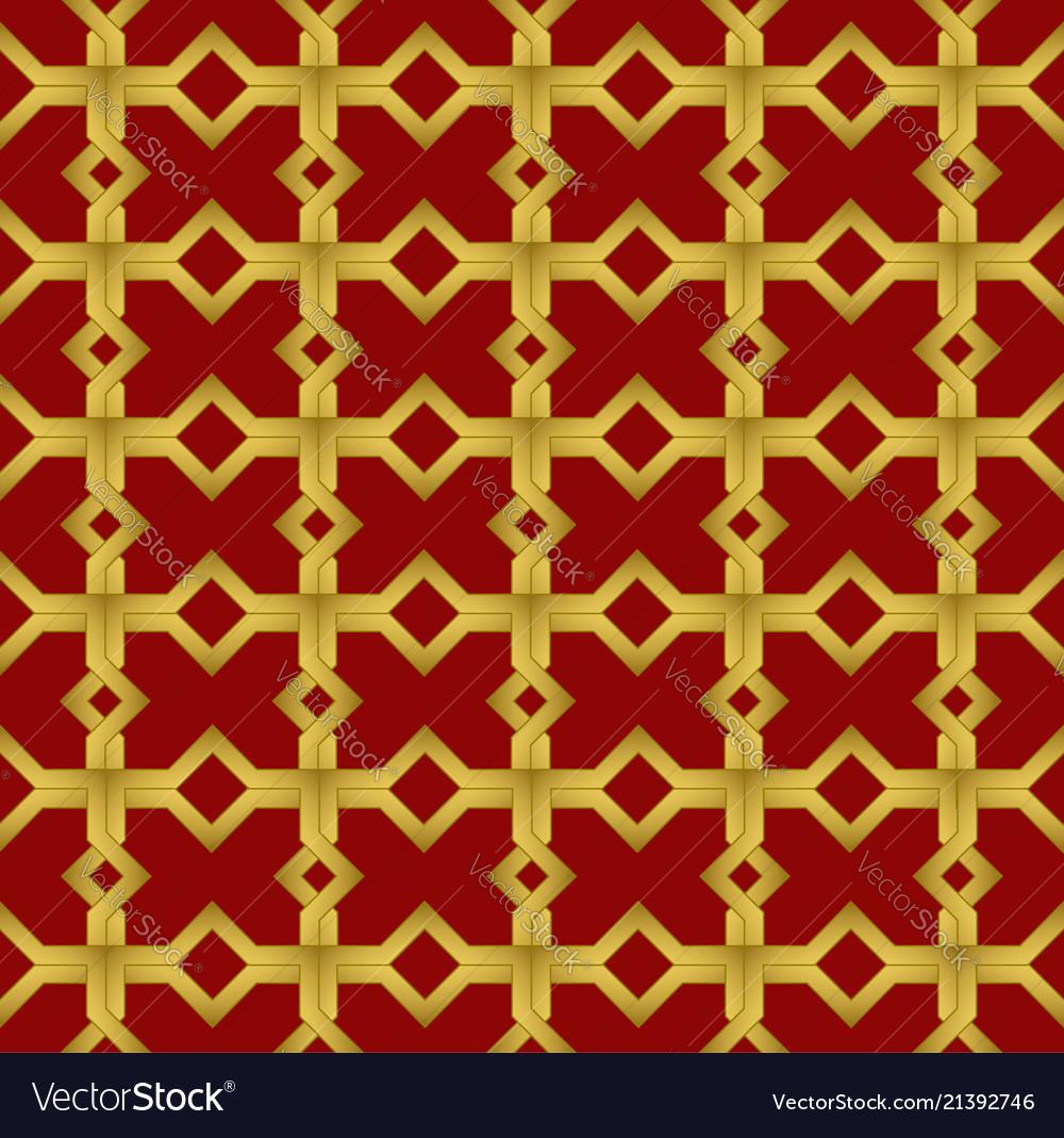 Geometric seamless ornament arabic pattern