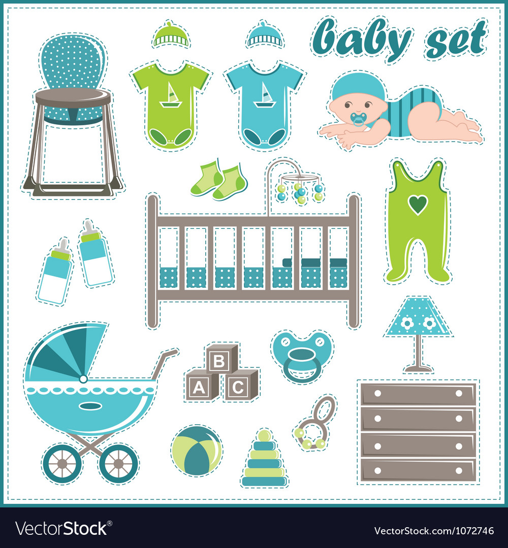 9502a9792 outlet boutique aca64 2d768 baby boy things vector ...