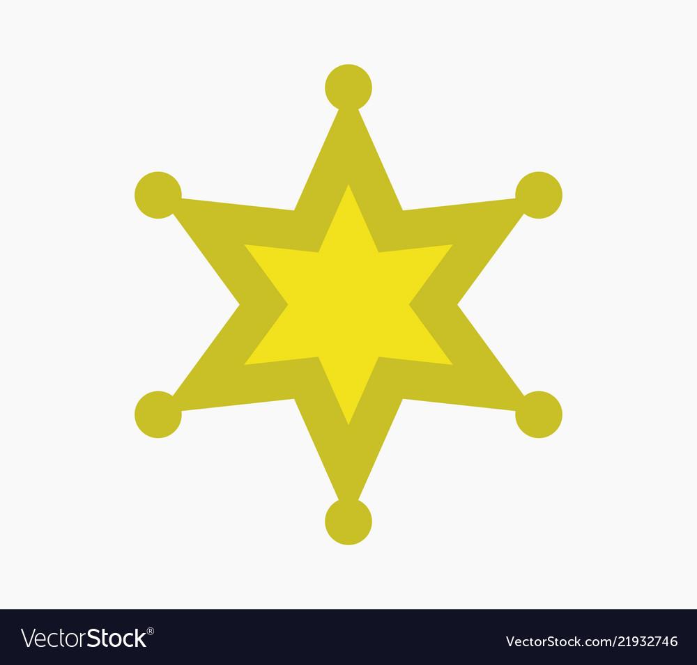 Sheriff star icon