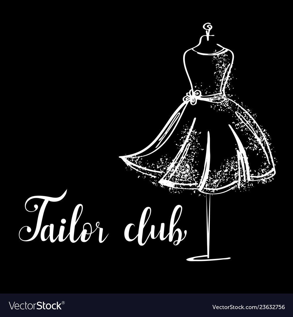 Logo fashion studio custom handmade calligraphy